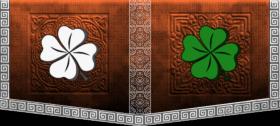 Glitched flag clan
