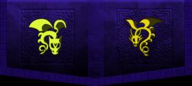 dark purple dragon